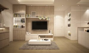 A spacious living room in a modern home, an example of how interior design reflects your personality.