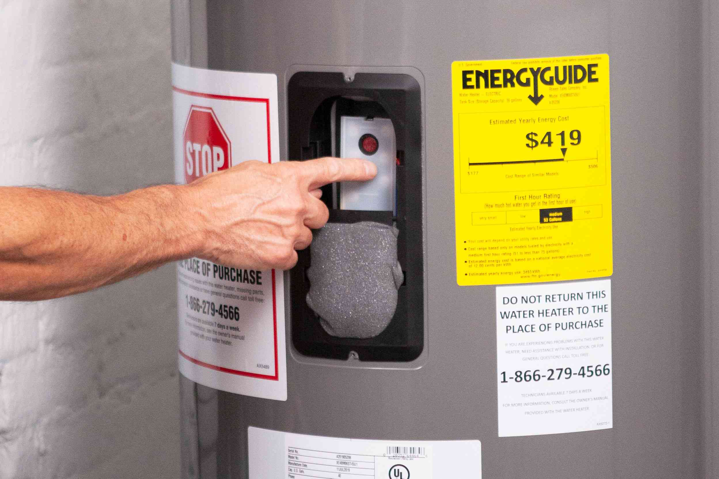 how to clean an electric water heater